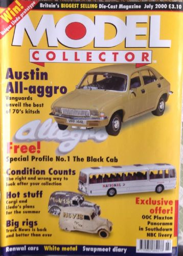 ORIGINAL MODEL COLLECTOR MAGAZINE July 2000